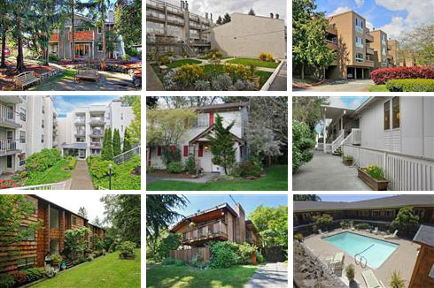 condos: Bothell, Seattle, Juanita, Sandpoint, Fremont, Lake City