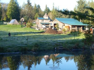 Port Angeles home, farm and land