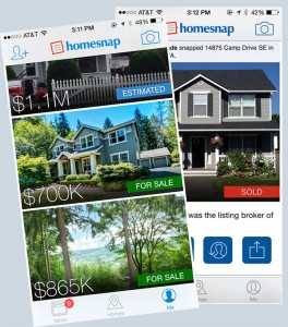 Find your next home with the Homesnap app