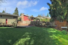 West Bellevue home for sale-backyard