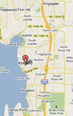 Kirkland WA Map