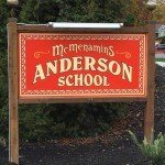 Bothell McMenamins Anderson School sign