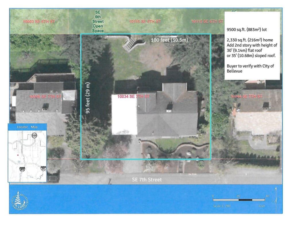 Bellevue Meydenbauer Home for Sale - 9,500 sqft lot