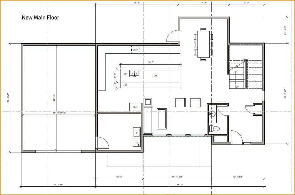 Bellevue Meydenbauer Home for Sale - main floor