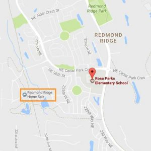 Redmond Ridge Home Sale | Rosa Parks Elementary