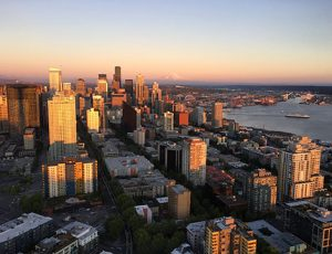 Seattle Area Home Buyer - View from Space Needle