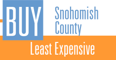 Least Expensive Snohomish County Homes