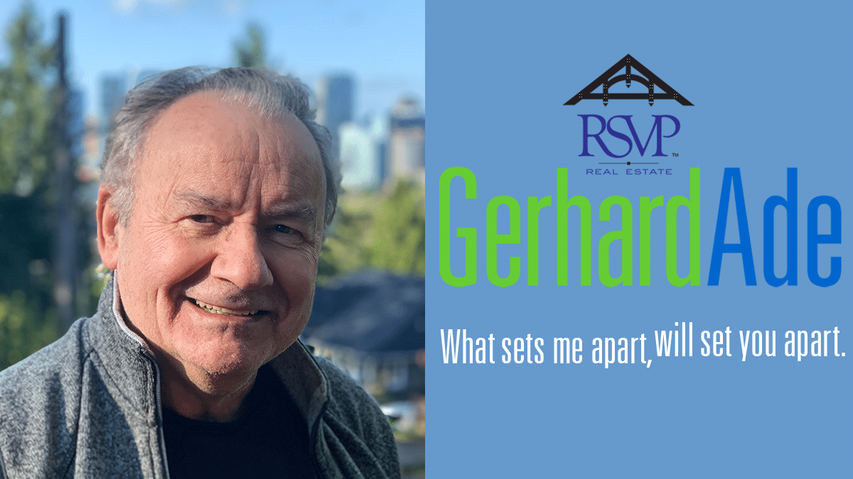 Seattle Real Estate News | Gerhard Ade RSVP Real Estate