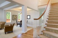 Redmond Ridge home sale entry staircase