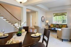 Redmond Ridge home sale living & dining rooms