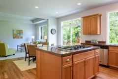 Redmond Ridge home sale kitchen & family areas