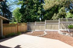 Kirkland Juanita townhouse sale deck backyard