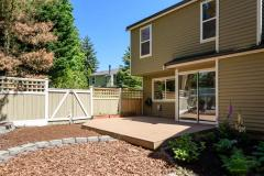Kirkland Juanita townhouse sale outdoor back