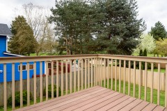 Monroe home sale deck and Currie View Park