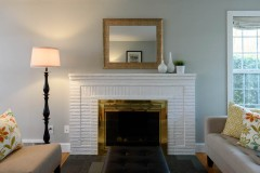 West Bellevue home for sale-fireplace