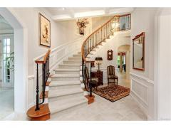 West Bellevue luxury home for sale staircase