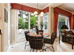 West Bellevue luxury home for sale eating nook
