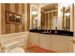West Bellevue luxury home for sale main level bathroom